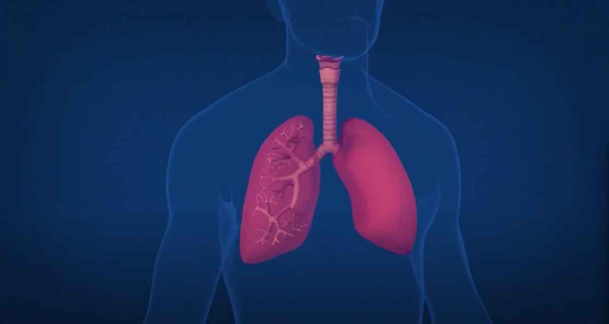 Photo from video on lung health and asthma