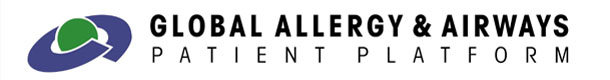 Global Allergy & Airways Patient Platform Logo